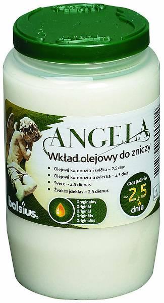 Angela olajmécses fehér
