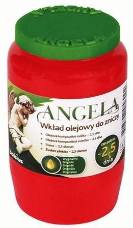 Angela olajmécses piros