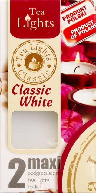 Illatos teamécses Maxi 2 db Classic white