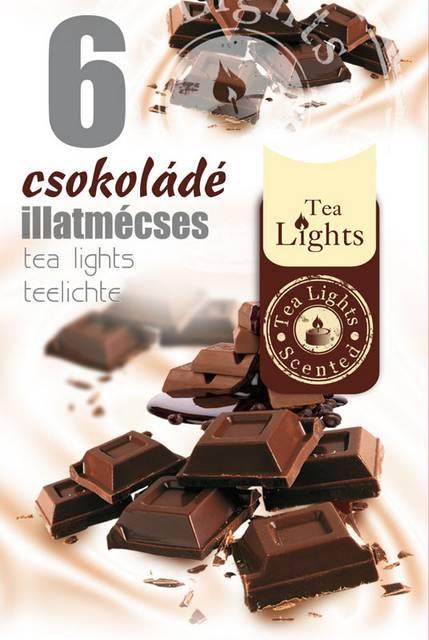 Illatos teamécses 6 db Csokoládé