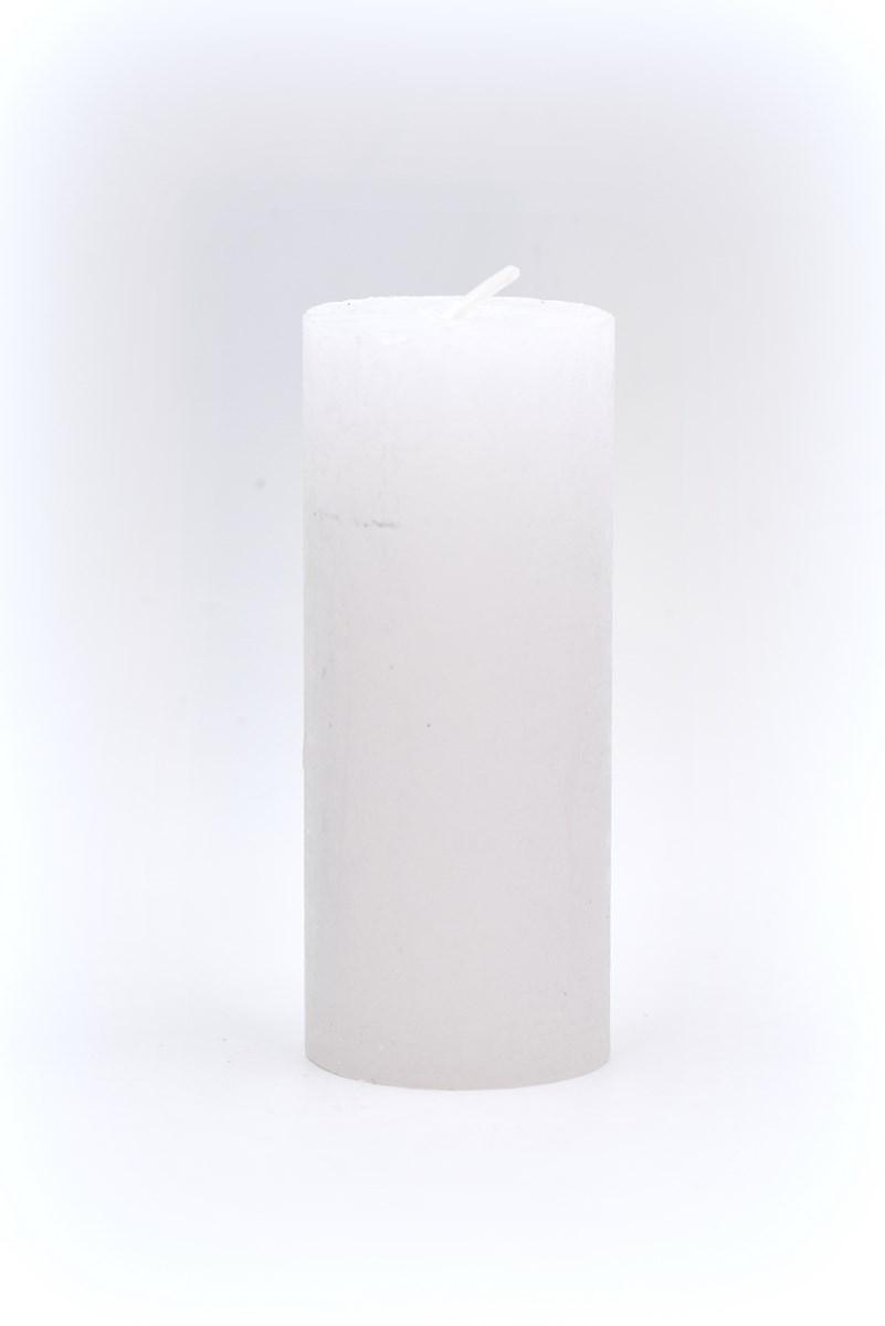 5 x 12 cm henger gyertya fehér